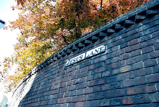 Cambridge: Jesus Lane