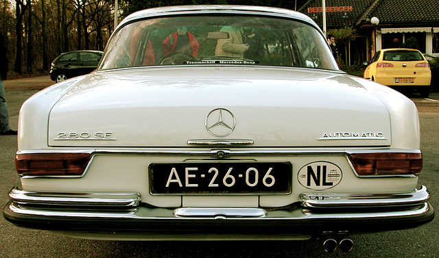Last picture of the 1968 Mercedes-Benz 280 SE Coupe