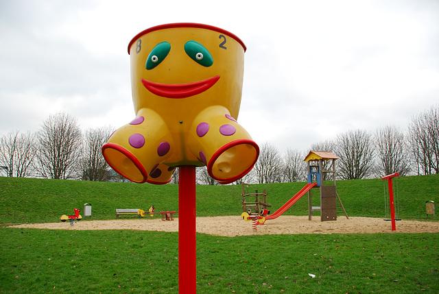 Unpopular children's play area