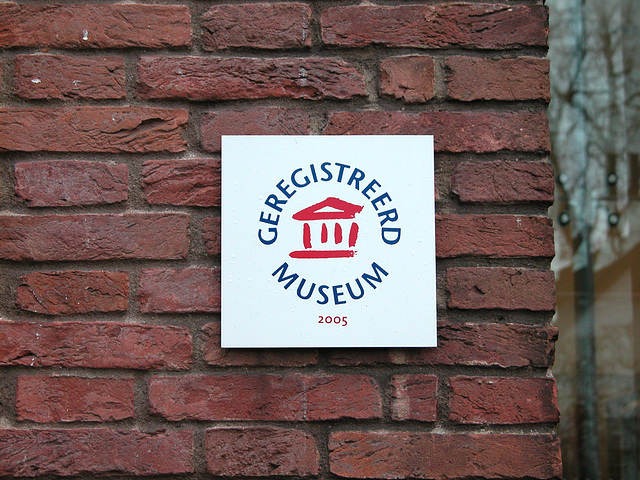 I visited a registered museum in Laren