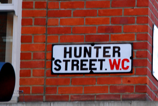 Hunter Street WC1