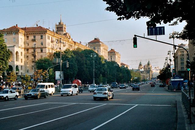 Kiev: Kreschatyk