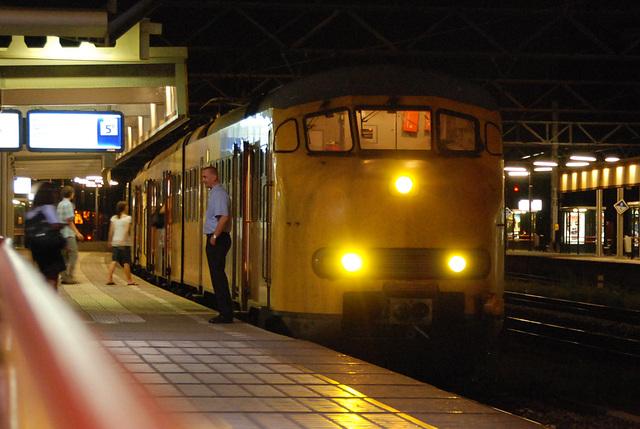 The night train at Leiden