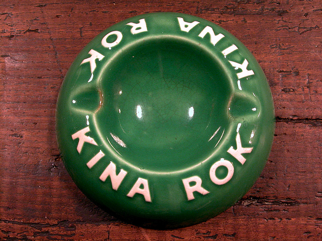 Ashtray series: Kina Rok ashtray
