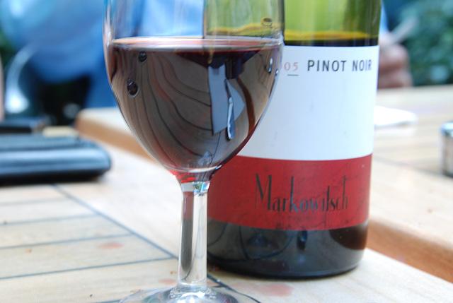 My wine on Thursday