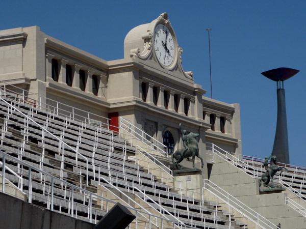 Olympic stadium clock