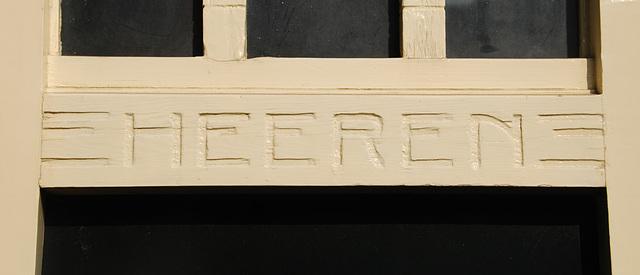 Former public convenience at Haarlem station: Heeren