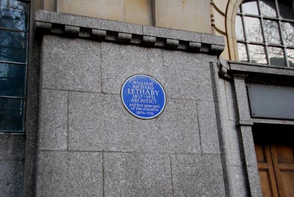 William Richard Lethaby blue plaque