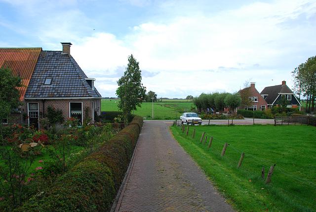 Foudgum in Friesland: view