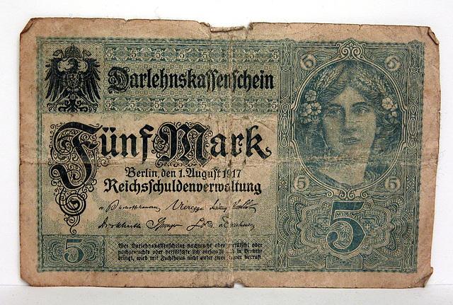 German money from World War I
