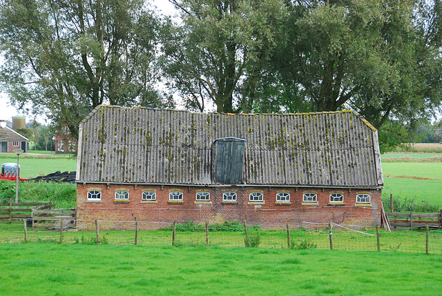 Foudgum in Friesland: old shed
