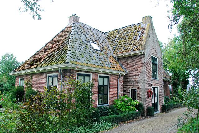 Foudgum in Friesland: Vicarage where Haverschmidt lived