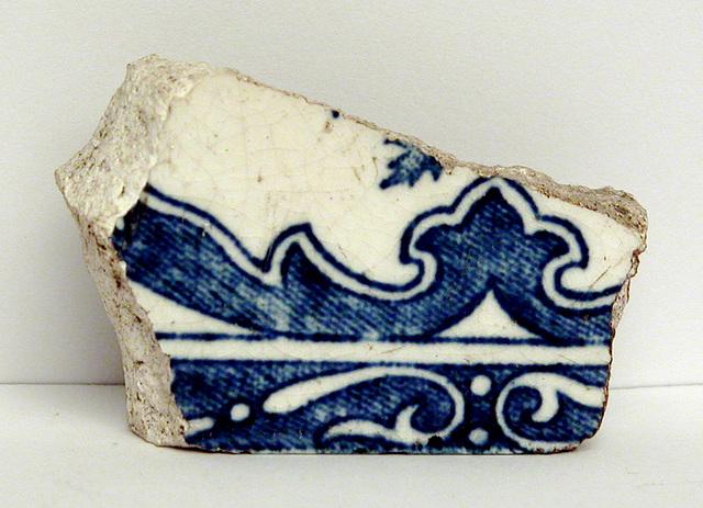 Piece of Portuguese Azulejo