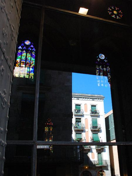 Reflection Santa Maria church