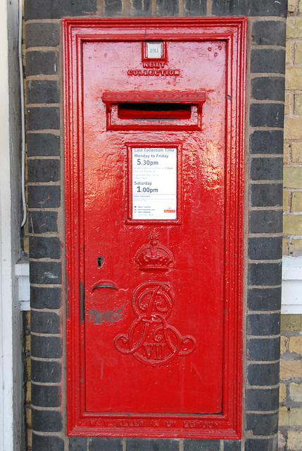 Post Office boxes in Cambridge: Edward VII