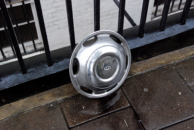 Hubcap of a London Cab