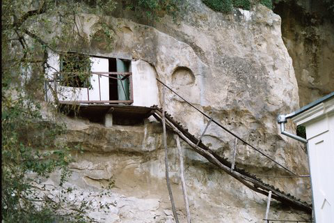 Monk's Cave Dwelling