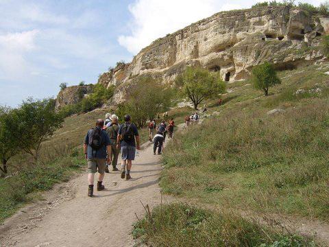 The Path to Chufut Kale