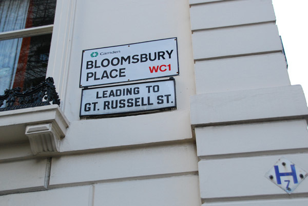 Bloomsbury Place WC1