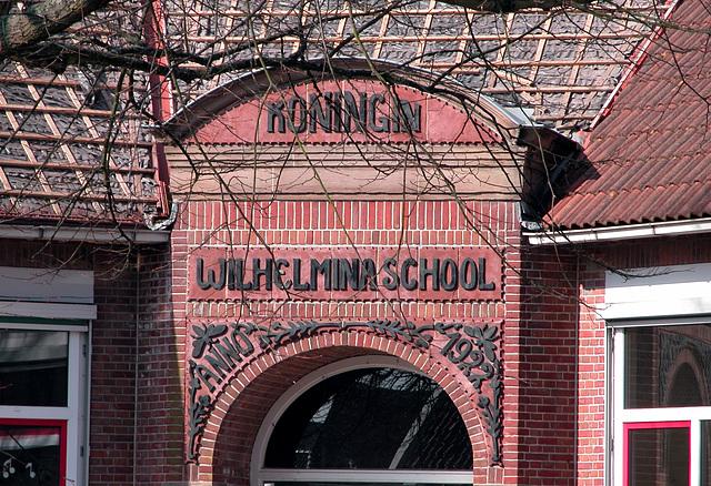 Queen Wilhelmina School in Rijnsburg