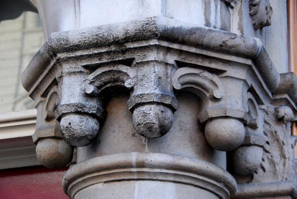 Spink's entrance detail