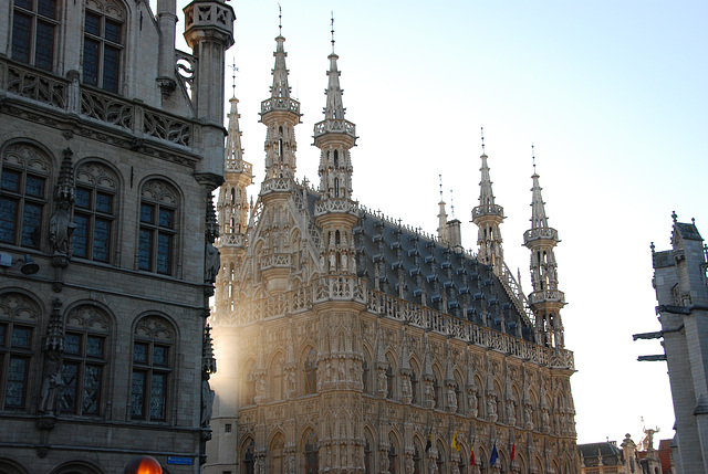 City Hall of Leuven, Belgium