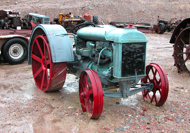 The Miracle of America Museum (Polson, Montana): Fordson tractor