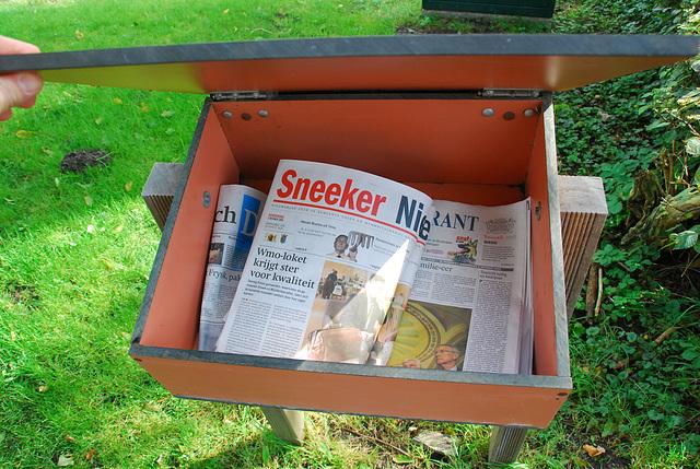 Greonterp in Friesland: newspapers