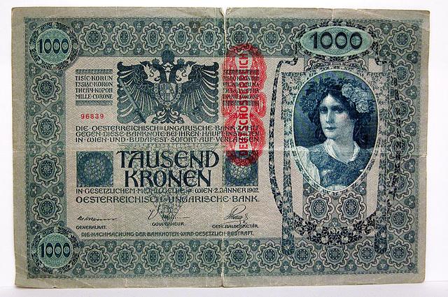 Money from Austria-Hungary