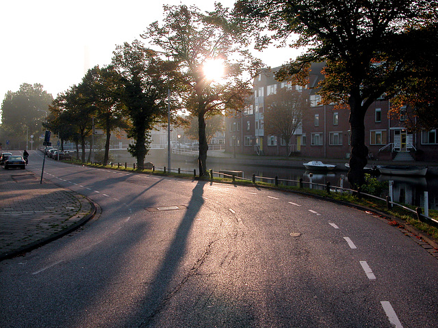 This morning in Leiden