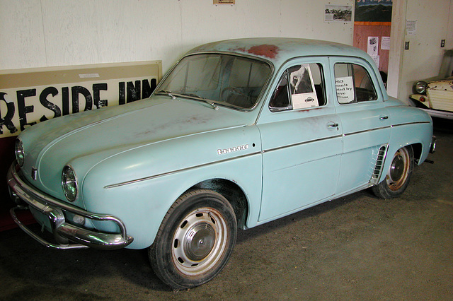 The Miracle of America Museum (Polson, Montana): 1963 Renault Dauphine