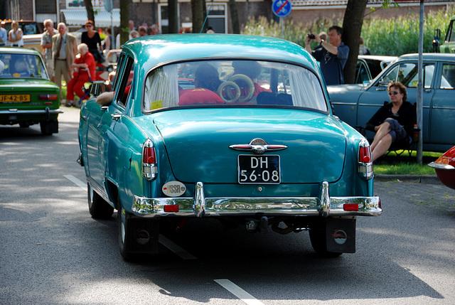Oldtimer day at Ruinerwold: 1962 GAZ M21 Volga