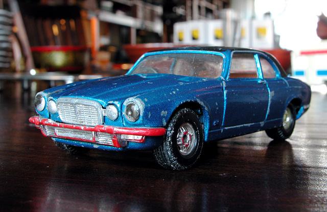 Old toys: Jaguar