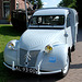 Oldtimer day at Ruinerwold: 1955 Citroën 2CV AZU