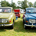 Oldtimer day at Ruinerwold: 1972 & 1975 Saab 96 V4