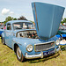 Oldtimer day at Ruinerwold: 1961 Volvo P544 B18