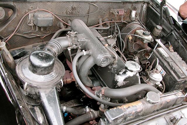 1965 Mercedes-Benz 190 D diesel engine