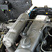 Oldtimer day at Ruinerwold: Pneumatic control of the Mercedes diesel engine