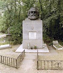 Grave of the German publicist K.H. Marx