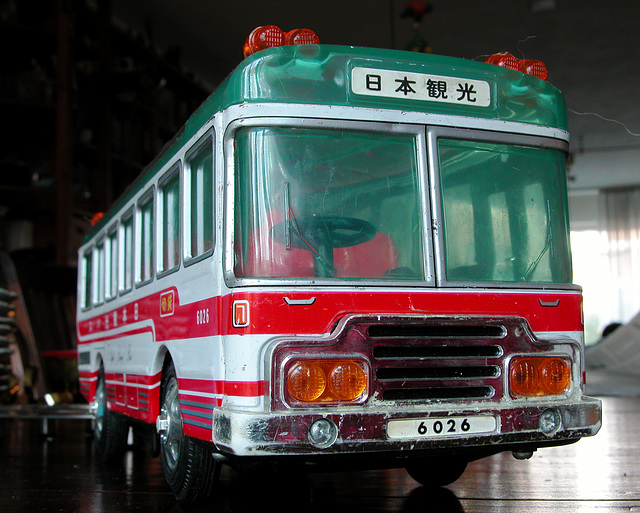 My old toys: bus from Hong Kong