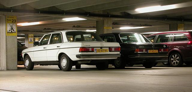 1980 Mercedes-Benz 200 D & 1982 Mercedes-Benz 280 E