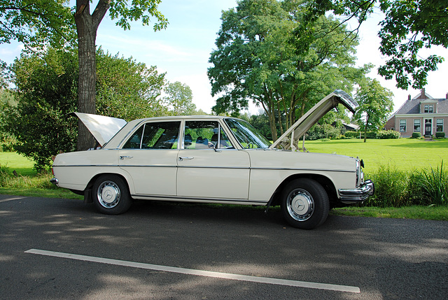 Oldtimer day at Ruinerwold: 1971 Mercedes-Benz 220 D