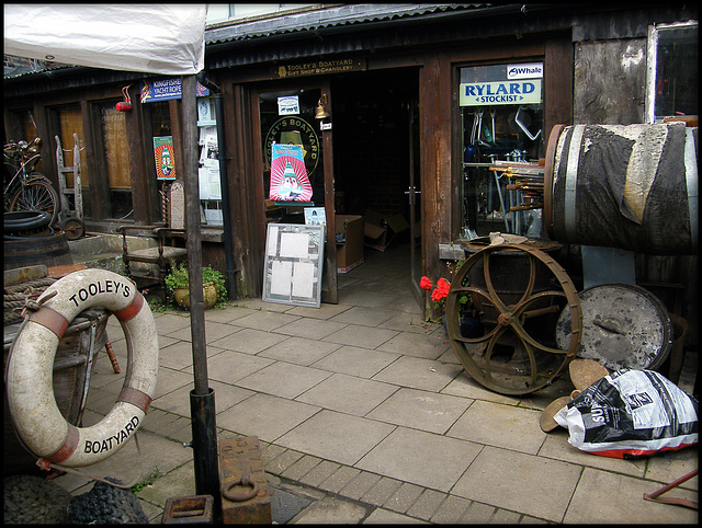 Tooley's Boatyard shop