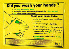 Portland images: How to wash your hands