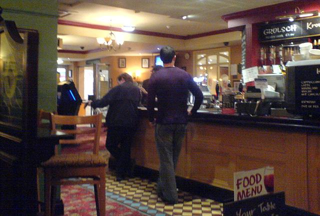Pub at York Station
