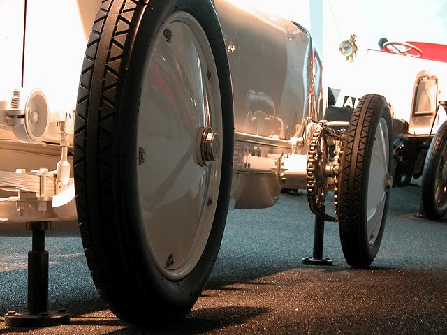 In the Mercedes-Museum: 1909 Blitzen-Benz