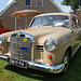 Oldtimer day at Ruinerwold: 1960 Mercedes-Benz 180D