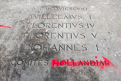 The grave of the counts of Holland at Rijnsburg