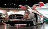 In the Mercedes-Museum: 300 SL Gull Wing