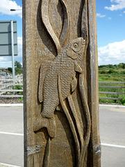 Fish post